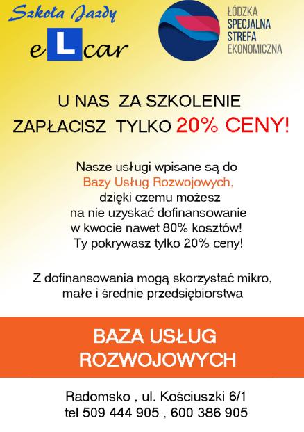 Szkoła Jazdy eLcar sp. z o.o.